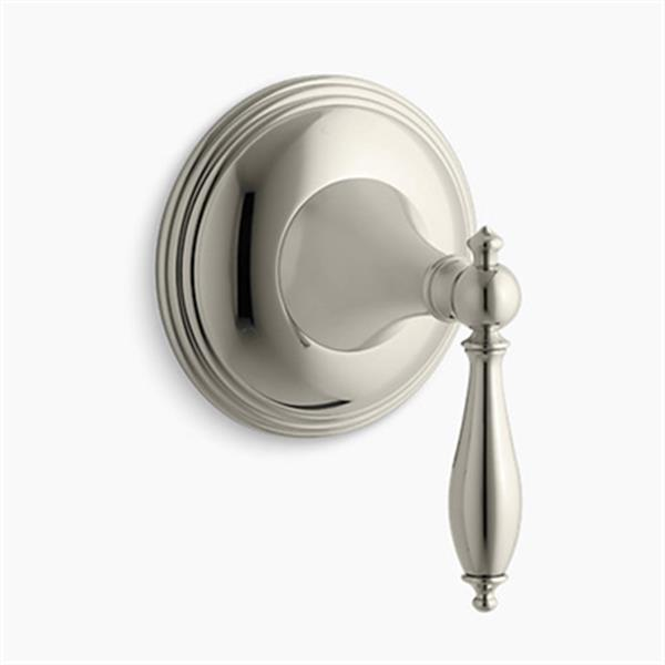 KOHLER Vibrant Polished Nickel Traditional Transfer Valve Trim