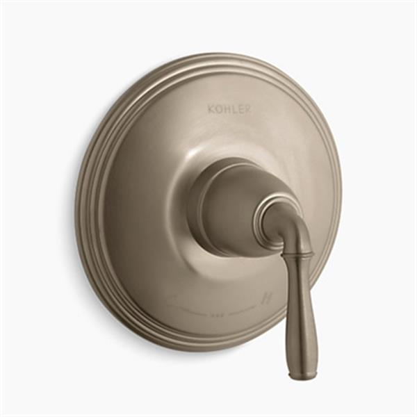 KOHLER Vibrant Brushed Bronze Thermostatic Trim
