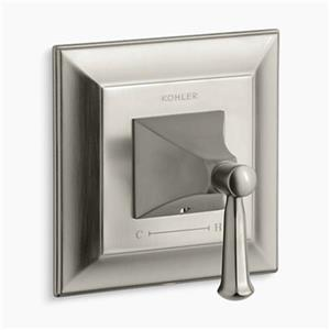 Kohler Forte Vibrant Brushed Nickel Thermostatic Valve Trim