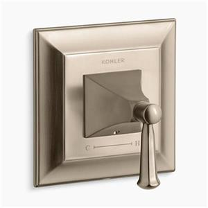 Kohler Memoirs Vibrant Brushed Bronze Thermostatic Valve Trim