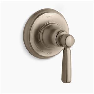 KOHLER Bancroft Vibrant Brushed Bronze Volume Control Trim
