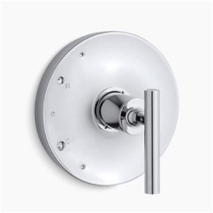 KOHLER Purist Polished Chrome Lever Handle Rite-Temp Valve Trim