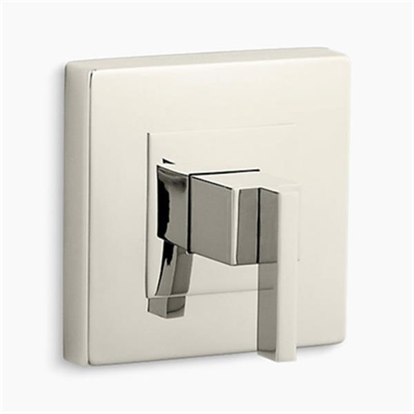 KOHLER Loure Vibrant Polished Nickel Rite-Temp Valve Trim without Diverter