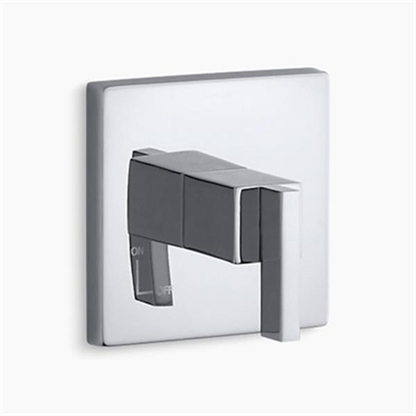 KOHLER Loure Polished Chrome Lever Handle Volume Control Trim