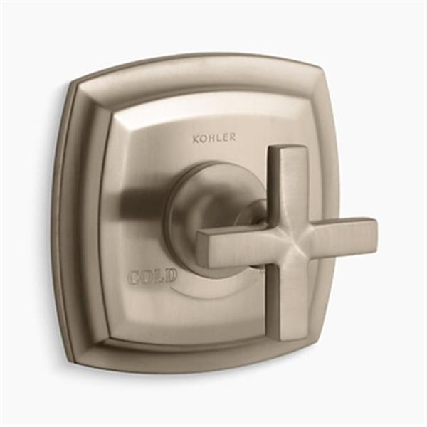 KOHLER Margaux Vibrant Brushed Bronze Thermostatic Valve Trim