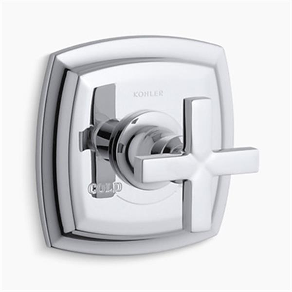 KOHLER Margaux Polished Chrome Thermostatic Valve Trim