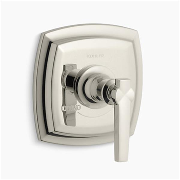 KOHLER Margaux Vibrant Polished Nickel Thermostatic Valve Trim