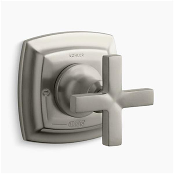 KOHLER Margaux Vibrant Brushed Nickel Volume Control Valve Trim