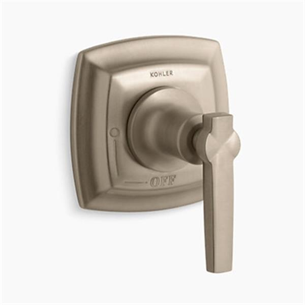 KOHLER Margaux Vibrant Brushed Bronze Volume Control Valve Trim