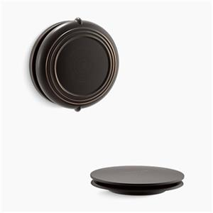 KOHLER PureFlo Traditional Rotary Turn Bath Drain Trim (Oil-Rubbed Bronze)