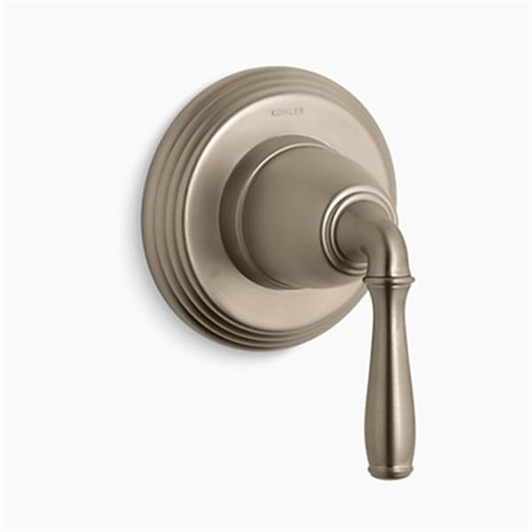 KOHLER Devonshire Vibrant Brushed Bronze Transfer Valve Trim