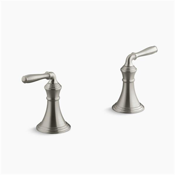 KOHLER Devonshire Vibrant Brushed Nickel Deck-/Rim-Mount Bath Faucet Trim
