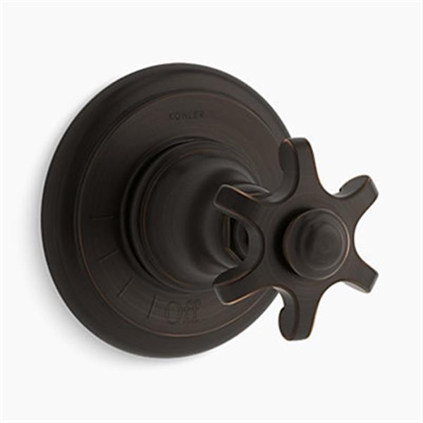 KOHLER Artifacts Oil Rubbed Bronze Volume Control Valve Trim