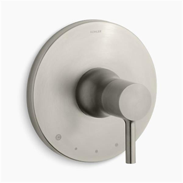 KOHLER Toobi Vibrant Brushed Nickel Thermostatic Valve Trim