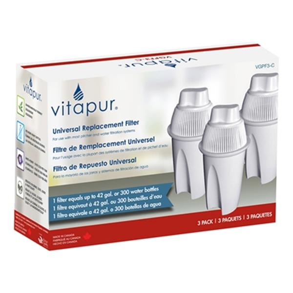 Vitapur Replacement Water Filter (3 Pack)