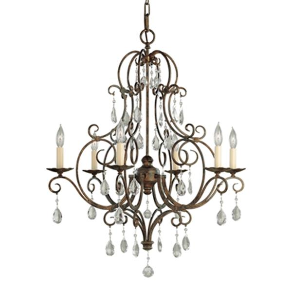 Feiss Chateau 6-Light Chandelier