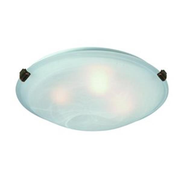 Artcraft Lighting White Value Model Clip Flush Mount Ceiling Light
