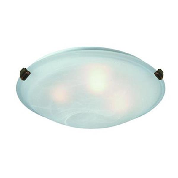 Artcraft Lighting White Value Model Clip Flush Mount Ceiling Light