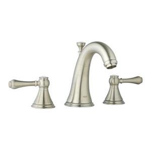 Grohe Allure 6.44-in Brushed Nickel Bathroom Sink Faucet