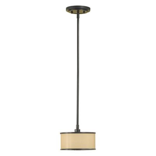 Feiss Casual Luxury Dark Bronze Large Pendant Light