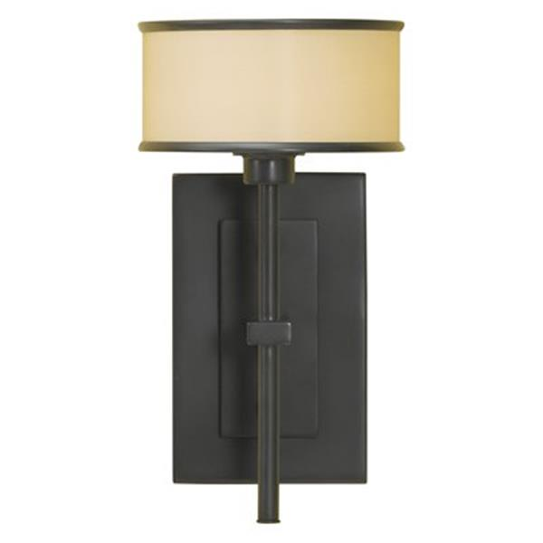 Feiss Casual Luxury Collection Dark Bronze Single Light Wall Sconce