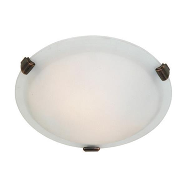 Artcraft Lighting Brushed Nickel Clip Flush Mount Ceiling Light