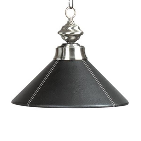 RAM Game Room Products Leather Shaded Large Pendant Light