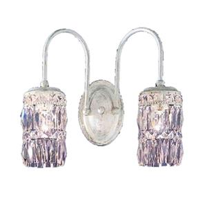 Classic Lighting Cascade Collection English Bronze Amethyst 2-Light Wall Sconce