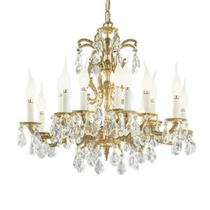 Classic Lighting Barcelona 24-in Millennium Silver Swarovski Strass 16-Light Chandelier