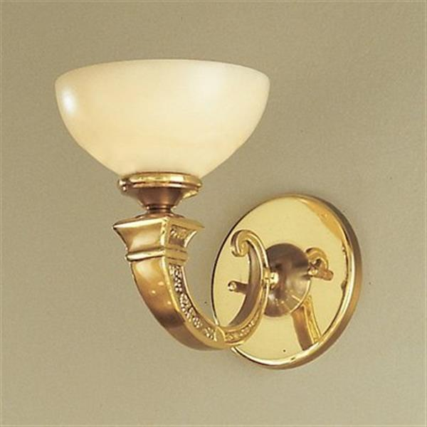 Classic Lighting Mallorca Collection Antique Bronze Single Light Wall Sconce