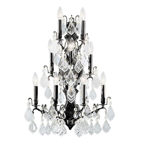 Classic Lighting Versailles Collection Antique Bronze 9-Light Wall Sconce