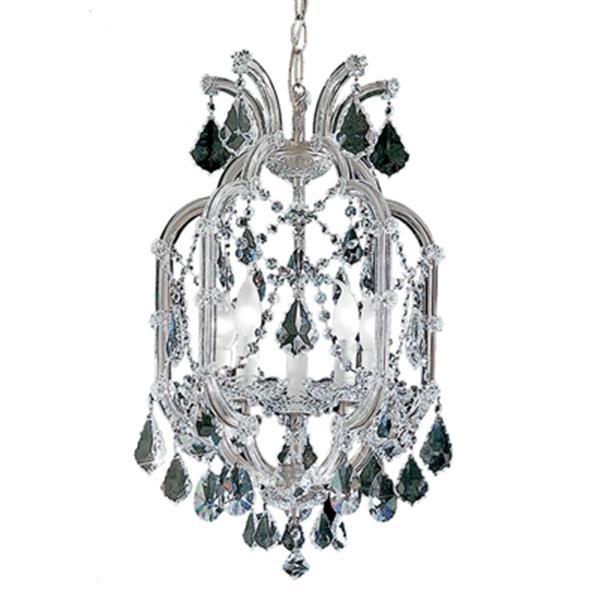 Classic Lighting Maria Theresa 24-in Chrome 5-Light Chandelier