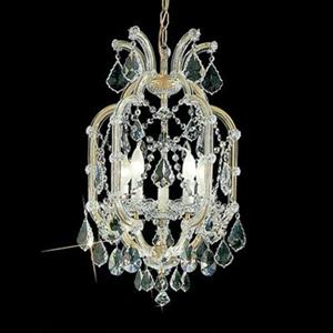 Classic Lighting Maria Theresa 24-in Olde World Gold 5-Light Chandelier