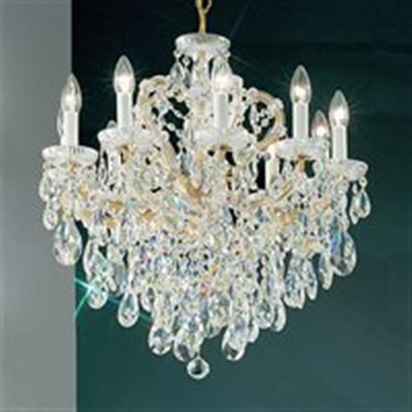 Classic Lighting 10-Light Maria Theresa Chandelier,8120 OWG