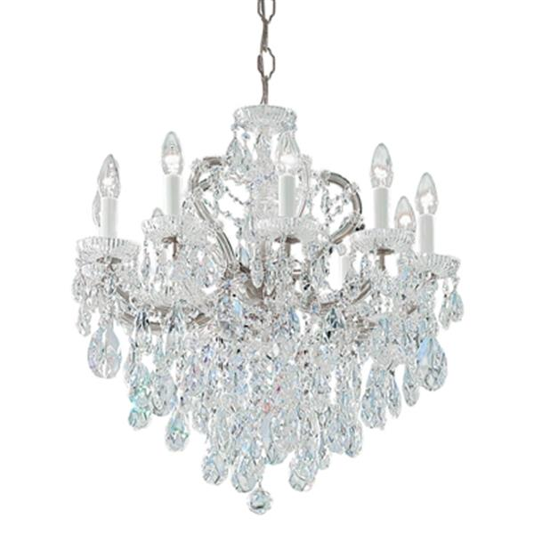Classic Lighting Maria Theresa 25-in Olde Wolrd Gold 10-Light Chandelier