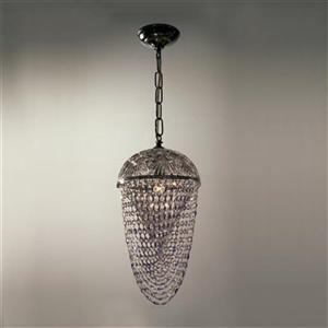 Classic Lighting 8223 Prague Large Pendant,8223 CH CPSA