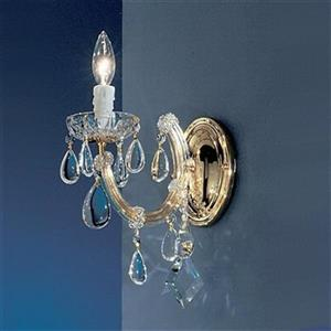 Classic Lighting Rialto Contemporary Gold Plated 1-Light Wall Sconce