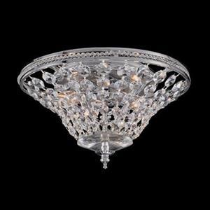 Classic Lighting 2-Light Kennsington Chrome Flush Mount Ceiling Light