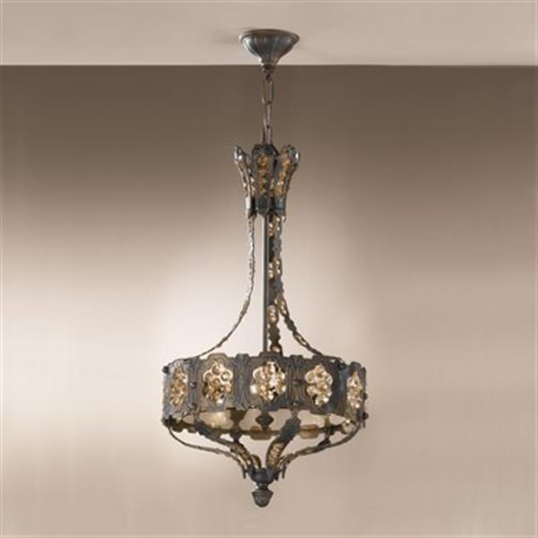 Classic Lighting 3-Light Castillio Bronce Aged Bronze Large Pendant
