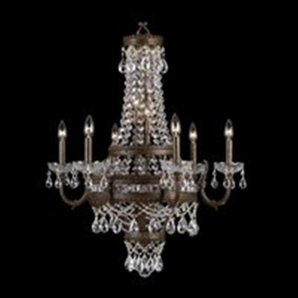 Classic Lighting Contessa 12-Light Bronze Chandelier