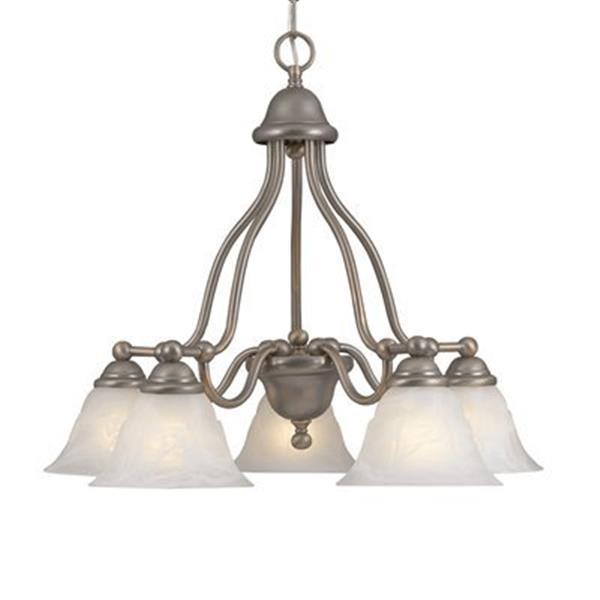 Classic Lighting Providence 5-Light Copper Chandelier