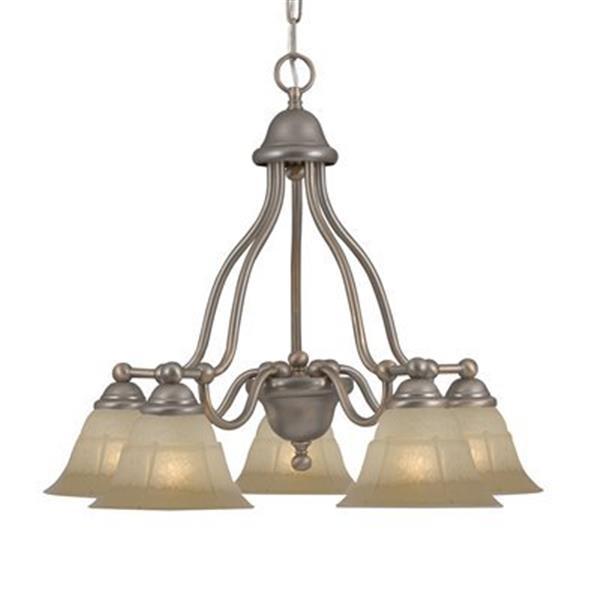 Classic Lighting Providence 5-Light Bronze Chandelier