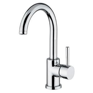 WS Bath Collections Linea Chrome Kitchen Faucet