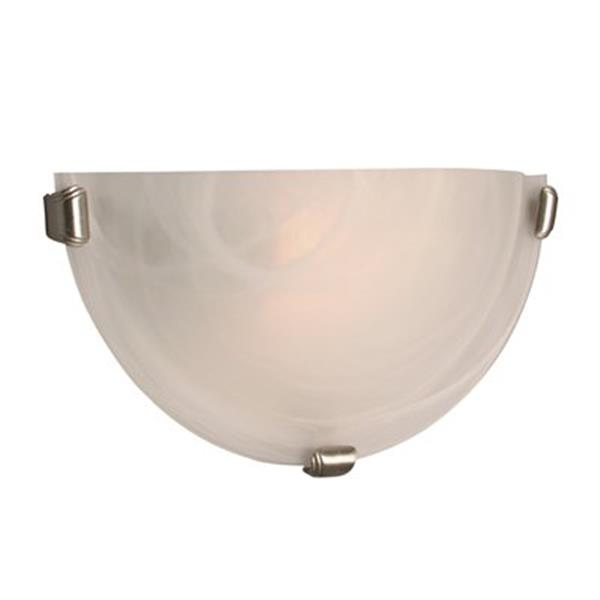 Galaxy 8.25-in x 16.12-in Pewter 2-Light Wall Sconce