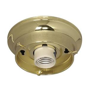 Galaxy Polished Brass Indoor Holder Flush Mount Ceiling Light