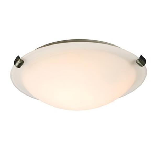 Galaxy 2-Light Pewter Ofelia Flush Mount Ceiling Light