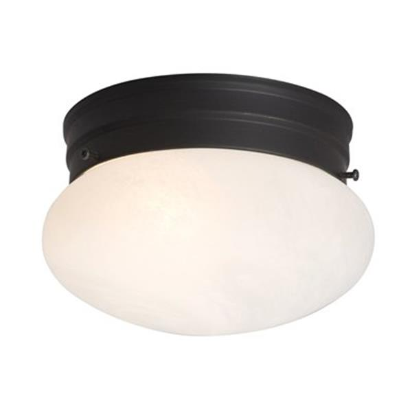 Galaxy Oil Rubbed Bronze Flush Mount Ceiling Light