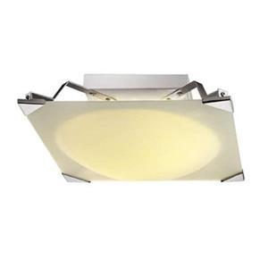 Amlite Lighting 3-Light Chrome Aquarious Flush Mount Ceiling Light