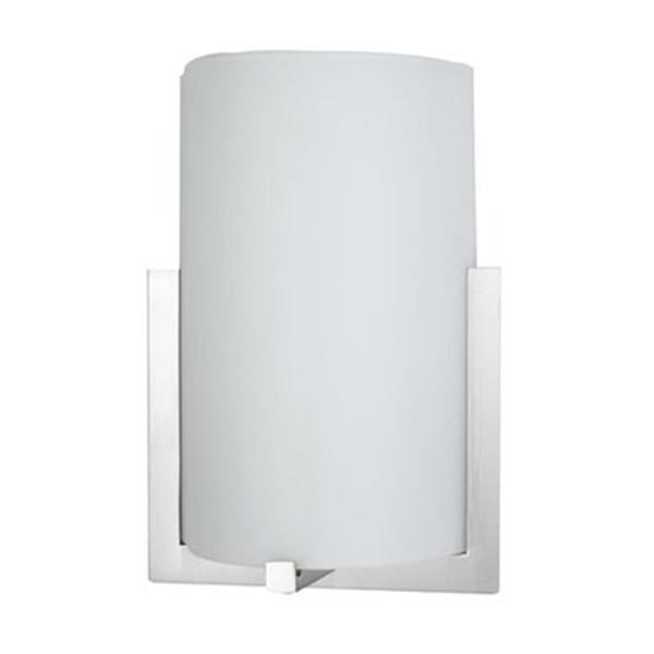 Amlite Lighting Aquarius 12.25-in x 8.50-in Brushed Nickel 2-Light Wall Sconce