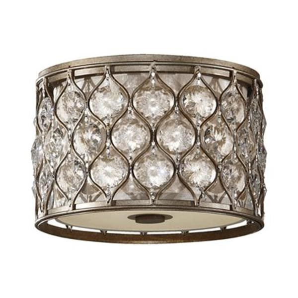 Feiss 2-Light Lucia Flush Mount Ceiling Light